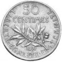 ½ FRANC / 50 CENTIMES