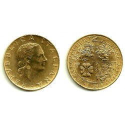 (155) Italia. 1993R. 200 Lira (EBC)