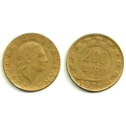 (105) Italia. 1979. 200 Lira (BC)