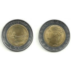 (111) Italia. 1983(R). 500 Lira (MBC)