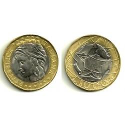 Italia. 1998. 1000 Lira (EBC)