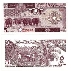 (31a) Somalia. 1983. 5 Shillings (SC)