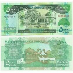 Somalilandia. 2011. 5000 Shillings (SC)