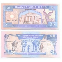 (4.b) Somalilandia. 1996. 50 Shillings (SC)