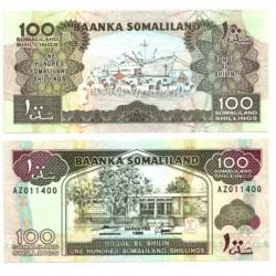 (5b) Somalilandia. 1996. 100 Shillings (SC)