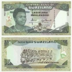 (23) Suazilandia. 1995. 5 Emalangeni (SC)