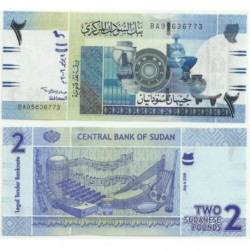 (2006) Sudán. 2006. 2 Pounds (SC)
