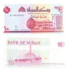 (52) Sudán. 1993. 10 Dinar (SC)