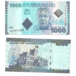 Tanzania. 1000 Shilingi (SC)
