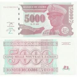 (69) Zaire. 1995. 500 Noveaux Zaires (SC)