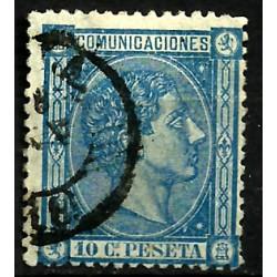 (164) 1875. 10 Céntimos