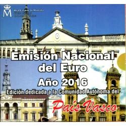 España 2016 Cartera Oficial (País Vasco)