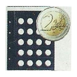 Hojas Vista para monedas de 2 Euro