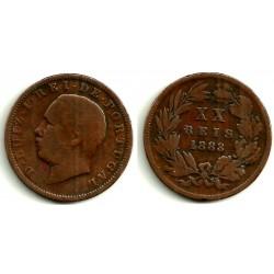 (527) Portugal. 1883. 20 Reis (BC)