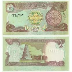 (78b) Iraq. 1993. ½ Dinar (SC)
