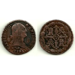 Carlos IV. 1795. 8 Maravedi (BC) Ceca de Segovia