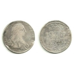 (25) Estados Italianos. Nápoles y Sicilia. 1753. 120 Grana (BC) (Plata)