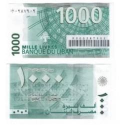 (84) Líbano. 1000 Libras (SC)
