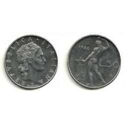 (95) Italia. 1980. 50 Lira (MBC)