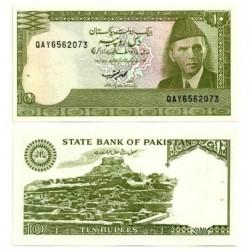 (39) Pakistán. 1983-84. 10 Rupees (SC)