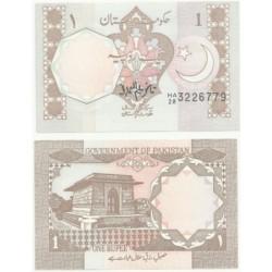 (25) Pakistán. 1981-82. 1 Rupee (SC)
