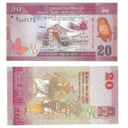 (2010) Sri Lanka. 2010. 20 Rupees (SC)