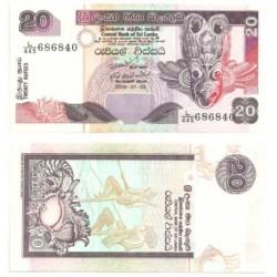 (116e) Sri Lanka. 2006. 20 Rupees (SC)