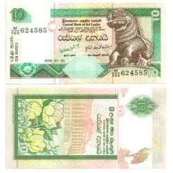 (115e) Sri Lanka. 2006. 10 Rupees (SC)