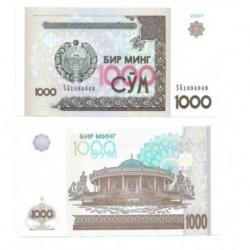(82) Uzbekistán. 2001. 1000 Sum (SC)