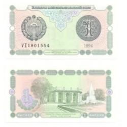 (73) Uzbekistán. 1994. 1 Sum (SC)