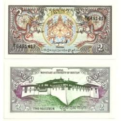 (13) Bhutan. 1986. 2 Ngultrum (SC)