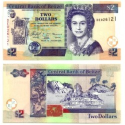 (66.b) Belice. 2005. 2 Dollars (SC)