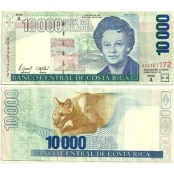 (267b) Costa Rica. 2002. 10000 Colones (EBC)