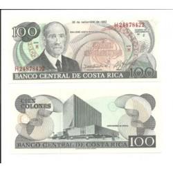 (261.a) Costa Rica. 1993. 100 Colones (SC)