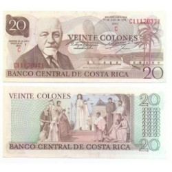 (238.c) Costa Rica. 1978. 20 Colones (SC)