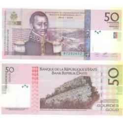 (274) Haití. 2004. 50 Gourdes (SC)