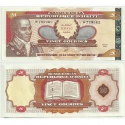 (271A) Haití. 2001. 20 Gourdes (SC)