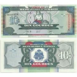 (265.a) Haití. 2000. 10 Gourdes (SC)