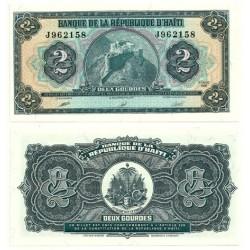 (254) Haití. 1990. 2 Gourde (SC)