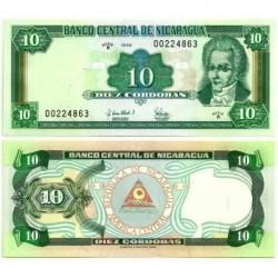 (181) Nicaragua. 1996. 10 Cordobas (SC)