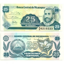 (170a) Nicaragua. 1991. 25 Centavos (SC)