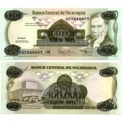 (149) Nicaragua. 1987. 100000 Cordobas (SC)