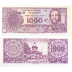 Paraguay. 2002. 1000 Guaranies (SC)