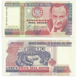 (142) Perú. 1988. 50000 Intis (SC)