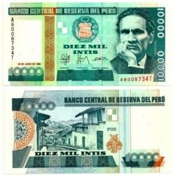 (140) Perú. 1988. 10000 Intis (SC)
