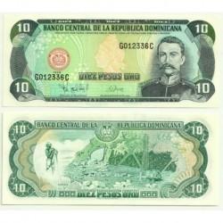 (153) República Dominicana. 1998. 10 Pesos (SC)