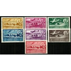 Africa Occidental. 1951. Serie Completa. Paisajes