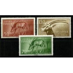 Sahara Español. 1955. Serie Completa. Dia del Sello Colonial