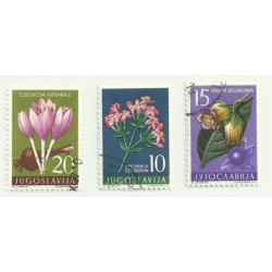 Yugoslavia. Mini Serie de Flores