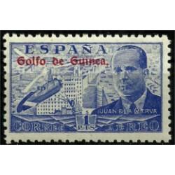 Golfo de Guinea. 1939. 1 Peseta. Juan de la Cierva